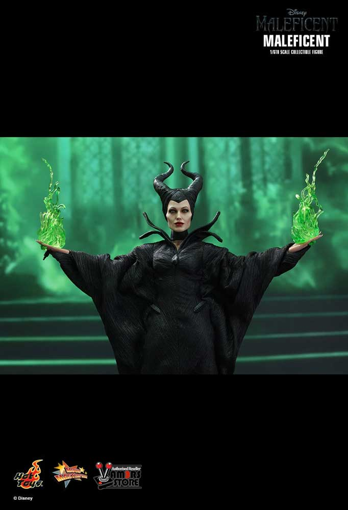 Official Hot Toys Maleficent Sixth Scale Collectible Figure Vamers Store