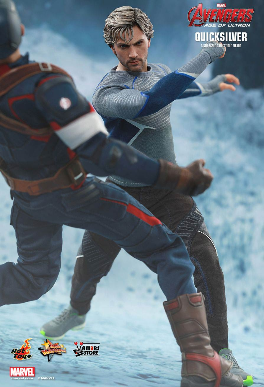Hot Toys Quicksilver Collectible from Avengers: Age of Ultron