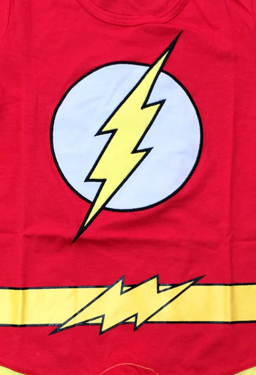 The Flash Suit Baby Grow