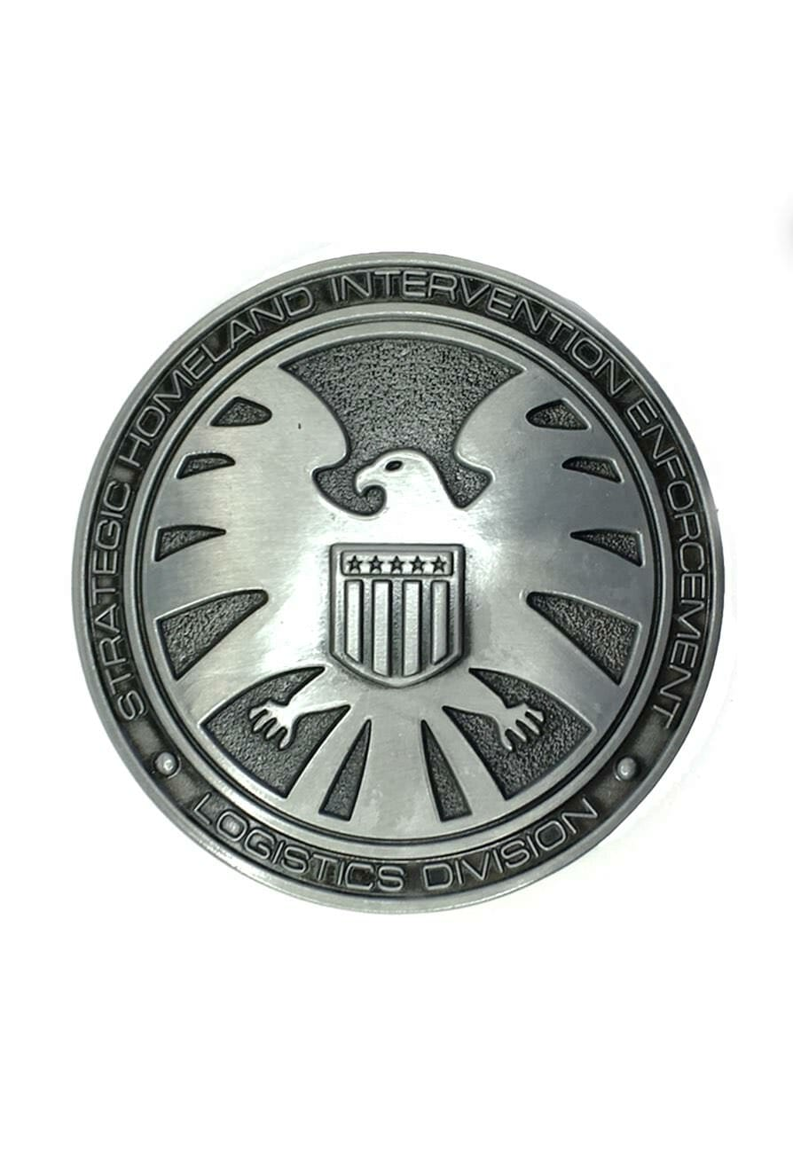 SHIELD Logo Belt Buckle Inspired by Marvel Comics
