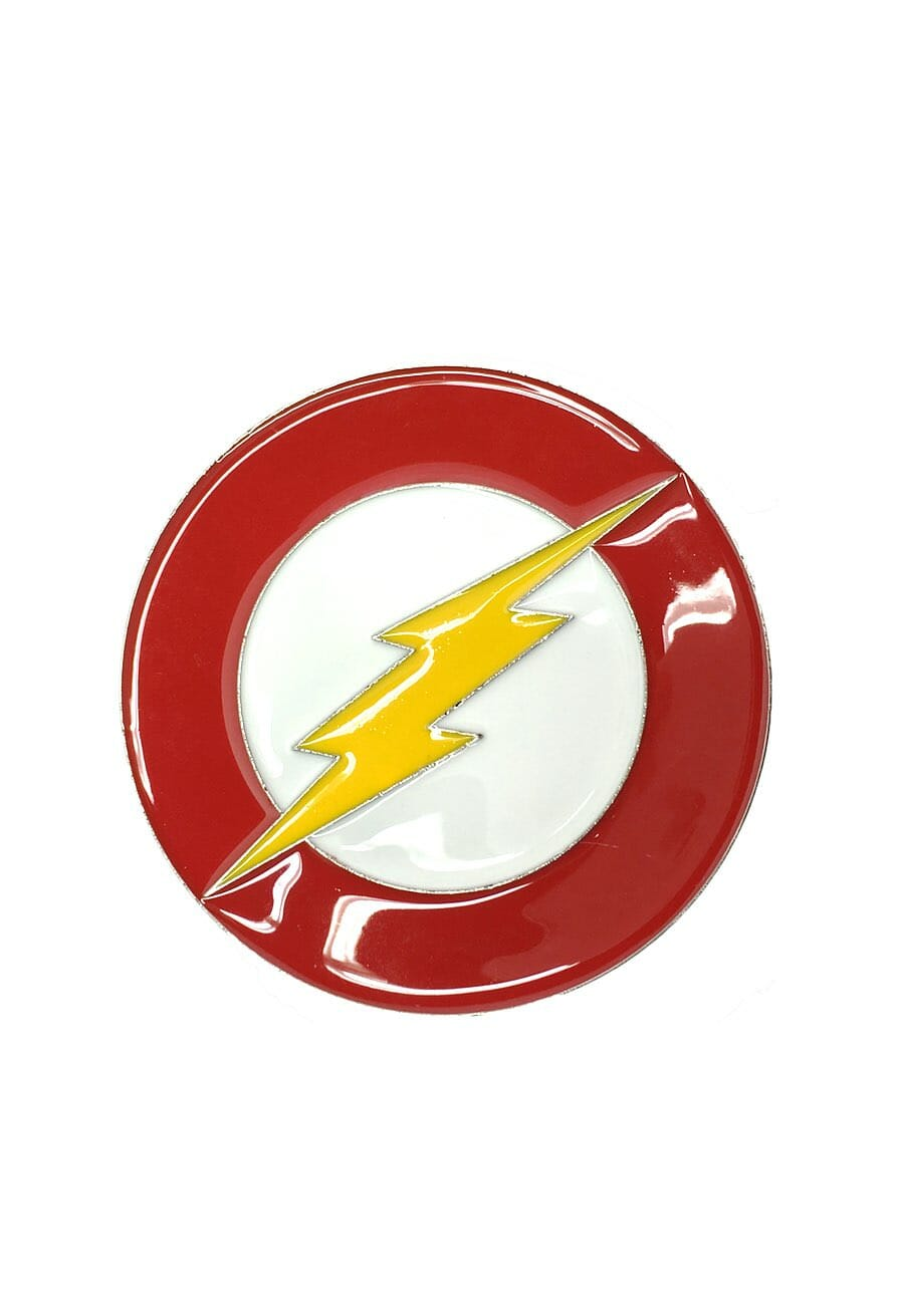The Flash Logo Belt Buckle Inspired by DC Comics