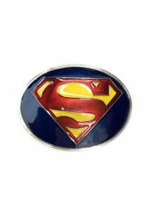 Superman New Adventures Logo Belt Buckle Inspired by DC Comics