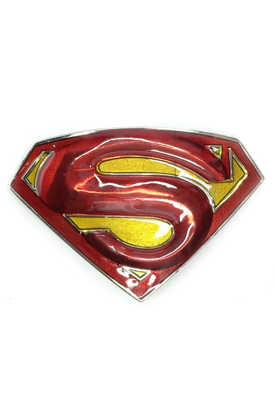 Superman Returns Logo Belt Buckle Inspired by DC Comics