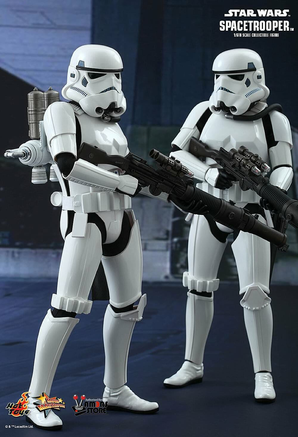 Hot Toys MMS291 Star Wars Episode IV A New Hope Spacetrooper 1//6 Exclusive