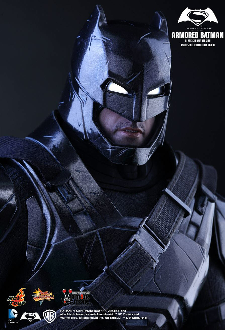 Hot Toys Armoured Batman (Chrome Black Version) from Batman v Superman: Dawn of Justice