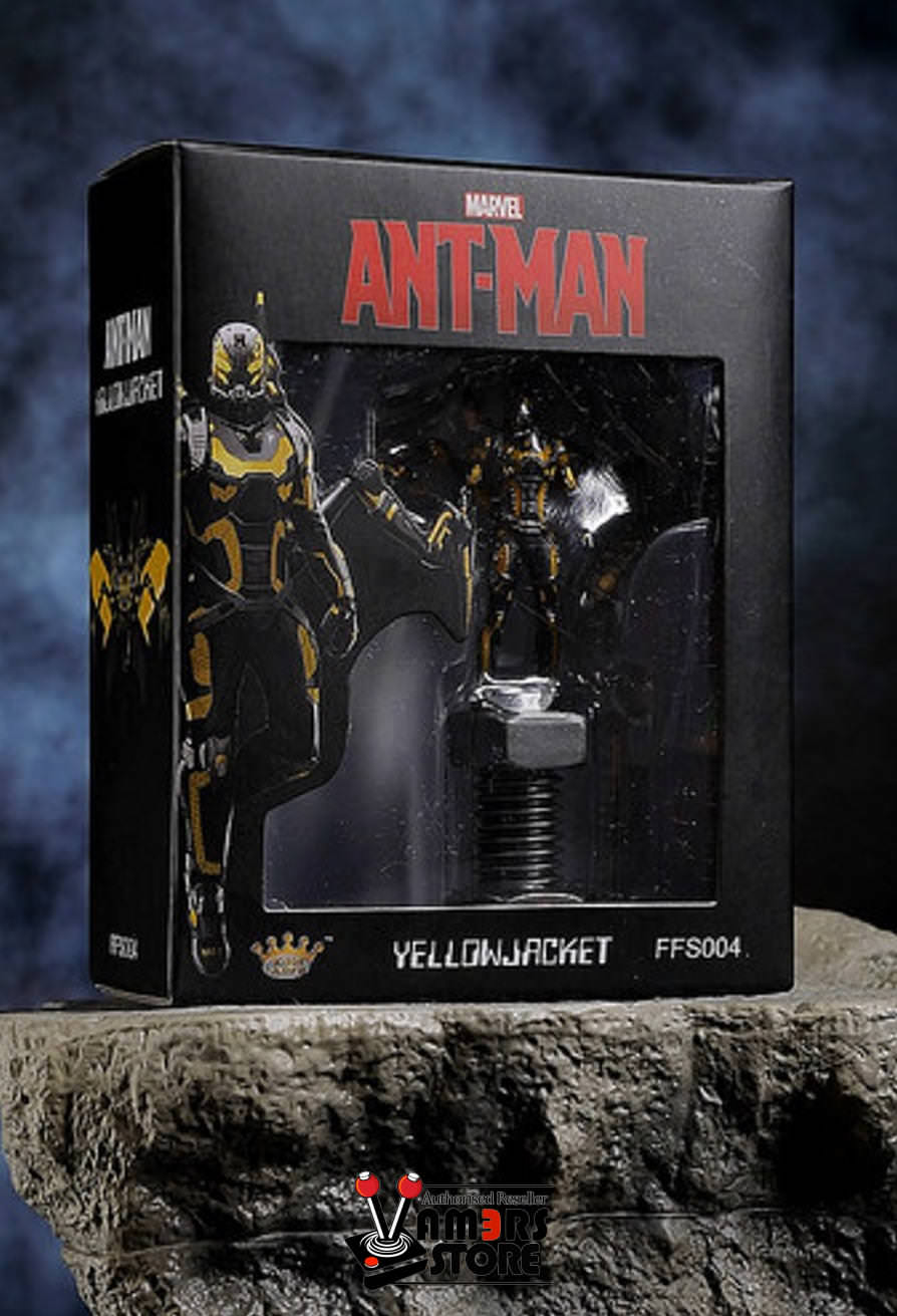 King Arts FFS004 Format Figure Ant-Man Marvel Yellow Jacket Posed New in box