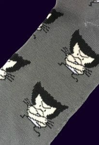 Wolverine Caricature Socks inspired by Marvel Comics