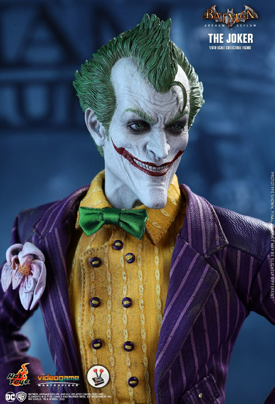 Hot Toys The Joker from Batman: Arkham Asylum (VGM27)