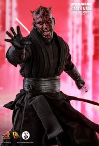 Hot Toys Darth Maul with Sith Speeder (DX17) from Star Wars Ep. 1