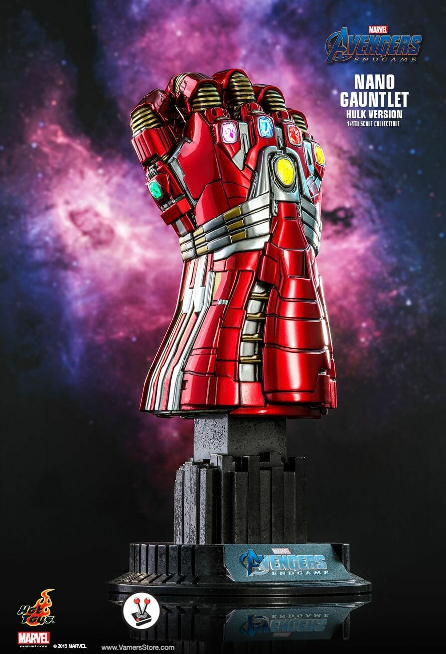 Hot Toys Nano Gauntlet (ACS009) (Hulk Version) Collectible from Avengers: Endgame