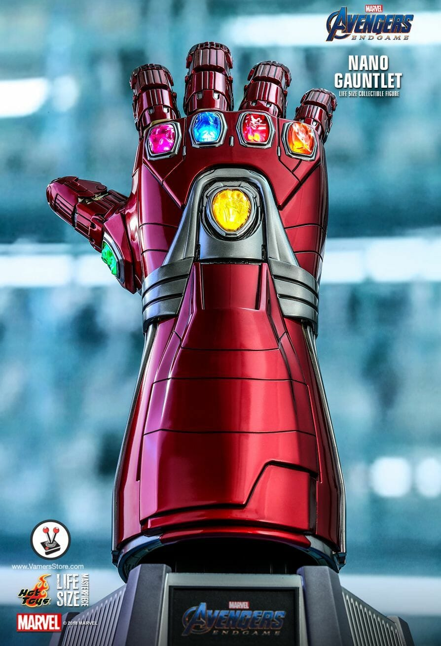 Hot Toys Nano Gauntlet (LMS007) 1:1 Collectible from Avengers: Endgame