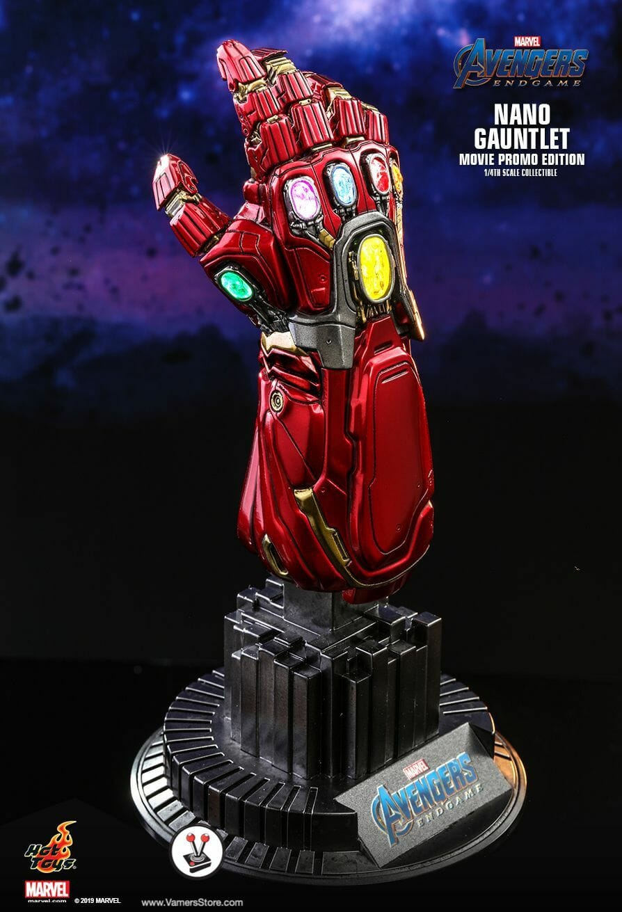Hot Toys Nano Gauntlet (ACS008) (Movie Promo Edition) Collectible from Avengers: Endgame