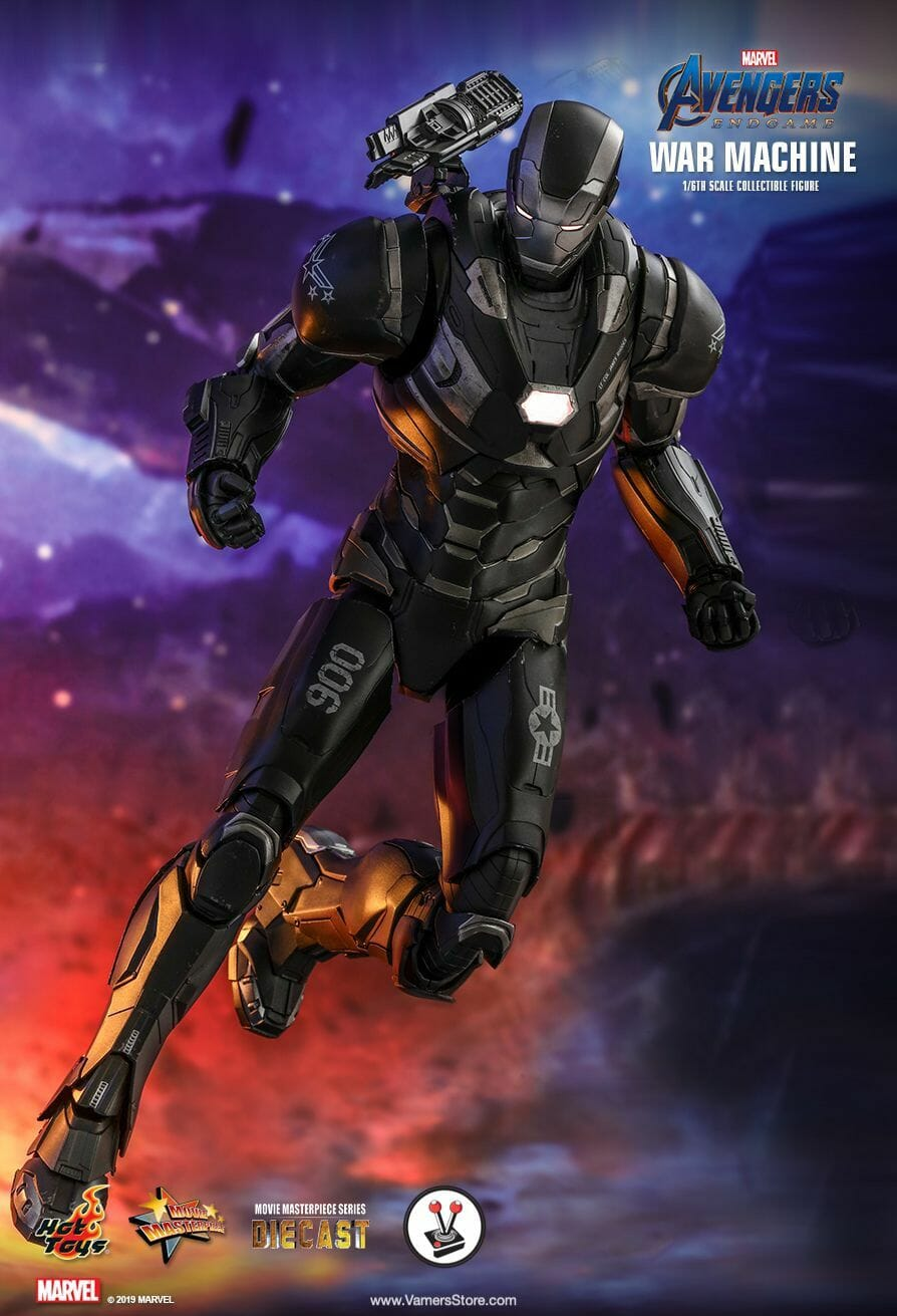 Hot Toys War Machine Mms530d31 From Avengers Endgame